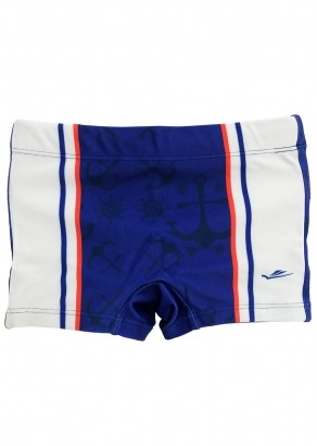 Sunga Infantil Boxer Royal Ancora Elite