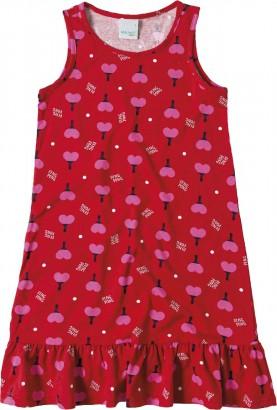 Vestido Verão Rosa Ping Pong Malwee