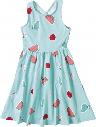Vestido Verão Azul Fruits Malwee