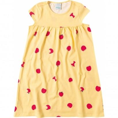 Vestido Infantil Verão Amarelo Maçã Malwee