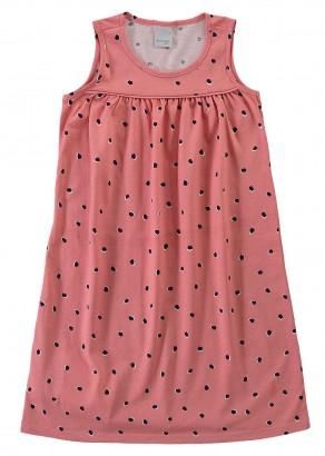 Vestido Infantil Verão Rosa Poá Malwee