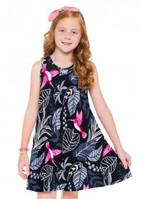 Vestido Infantil Preto - Kyly