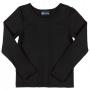 Blusa com Proteção UV Infantil Preto - Quimby