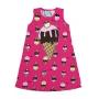 Camisola Infantil Verão Rosa Ice Cream Dream - Kyly