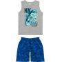 Conjunto Infantil Masculino Verão Cinza NY - Malwee