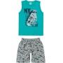 Conjunto Infantil Masculino Verão Verde NY - Malwee