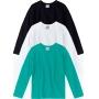 Kit 3 Camisetas Básicas Malha UV Infantil Masculina Malwee