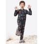Macacão/Pijama Infantil Masculino Inverno Cinza Guaxinim Malwee