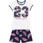 Pijama Infantil Feminino Verão Branco Dream Girl - Kyly