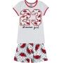 Pijama Infantil Feminino Verão Cinza Dream Girl Brilha no Escuro - Kyly
