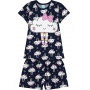 Pijama Infantil Feminino Verão Marinho Cute Cloud Brilha no Escuro - Kyly