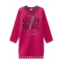 Vestido Infantil Rosa Inverno Music - Kyly