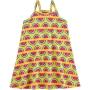 Vestido Infantil Curto Amarelo Melancias - Kyly