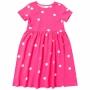 Vestido Infantil Malwee Curto Rosa Poá