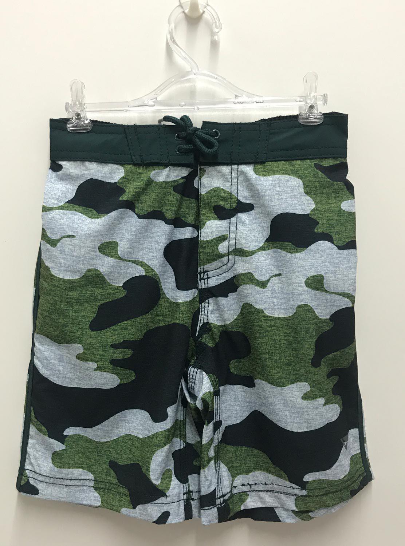 Bermuda Infantil Verde Camuflagem Yachmaster