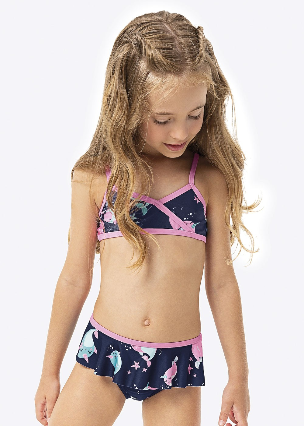 Biquíni Infantil Verão Azul Ocean Malwee