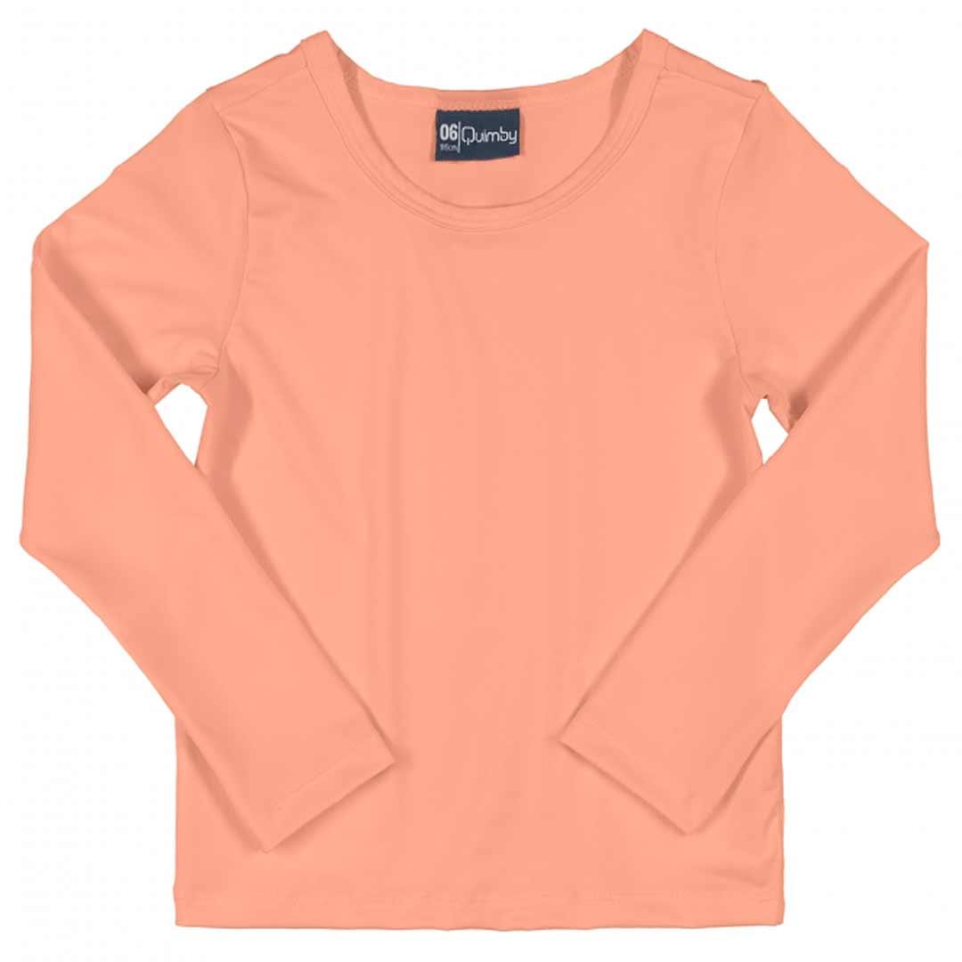 Blusa com Proteção UV Infantil Salmao - Quimby