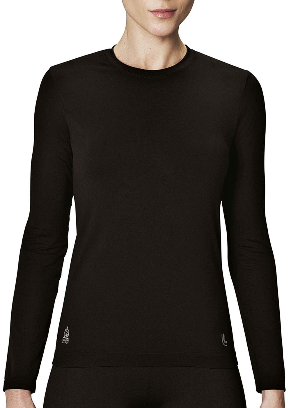 Blusa Feminina Térmica Lupo Advanced Sem Costura Preta - Lupo