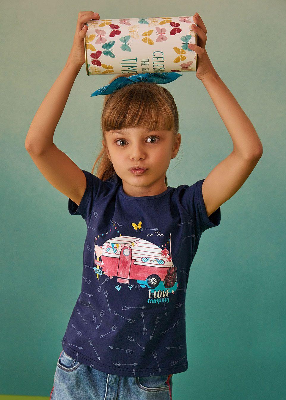 Kit Presente com 2 Blusas Infantil Feminina Malwee - Acompanha Embalagem