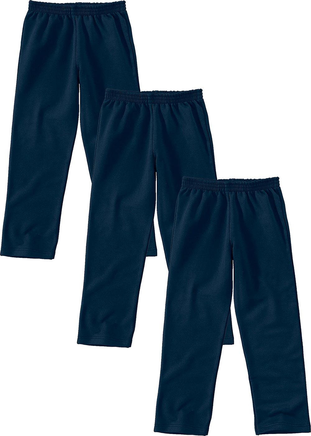 Calça De Moletom Infantil Azul Malwee