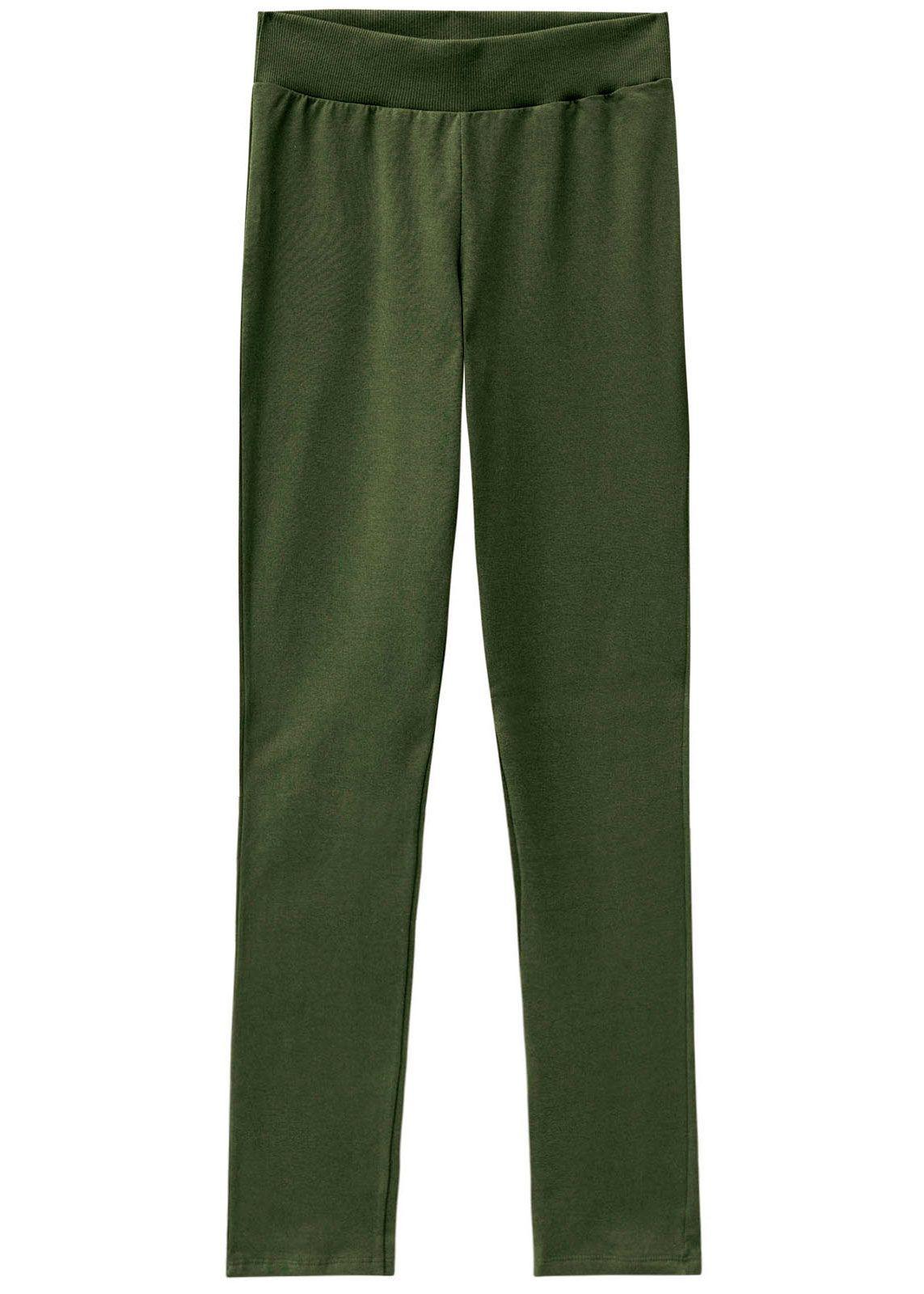 Calça Feminina Adulto Inverno Verde Malwee