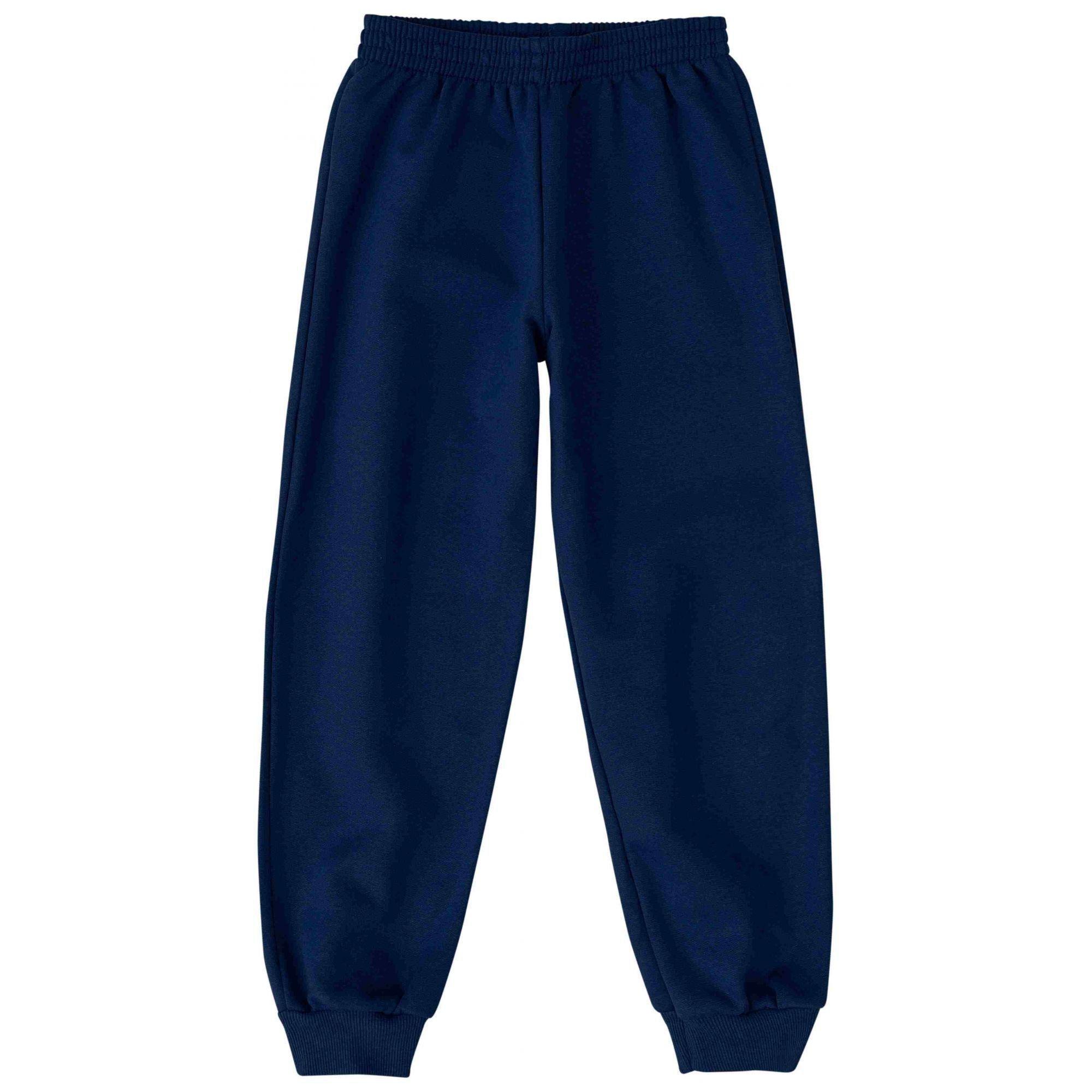 Calça de Moletom Infantil Inverno Azul Marinho Malwee