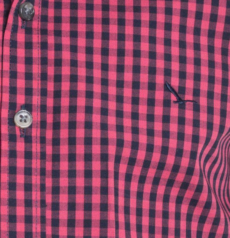 Camisa Infantil Manga Longa Slim Xadrez Rosa YachtMaster: Tabela de medidas