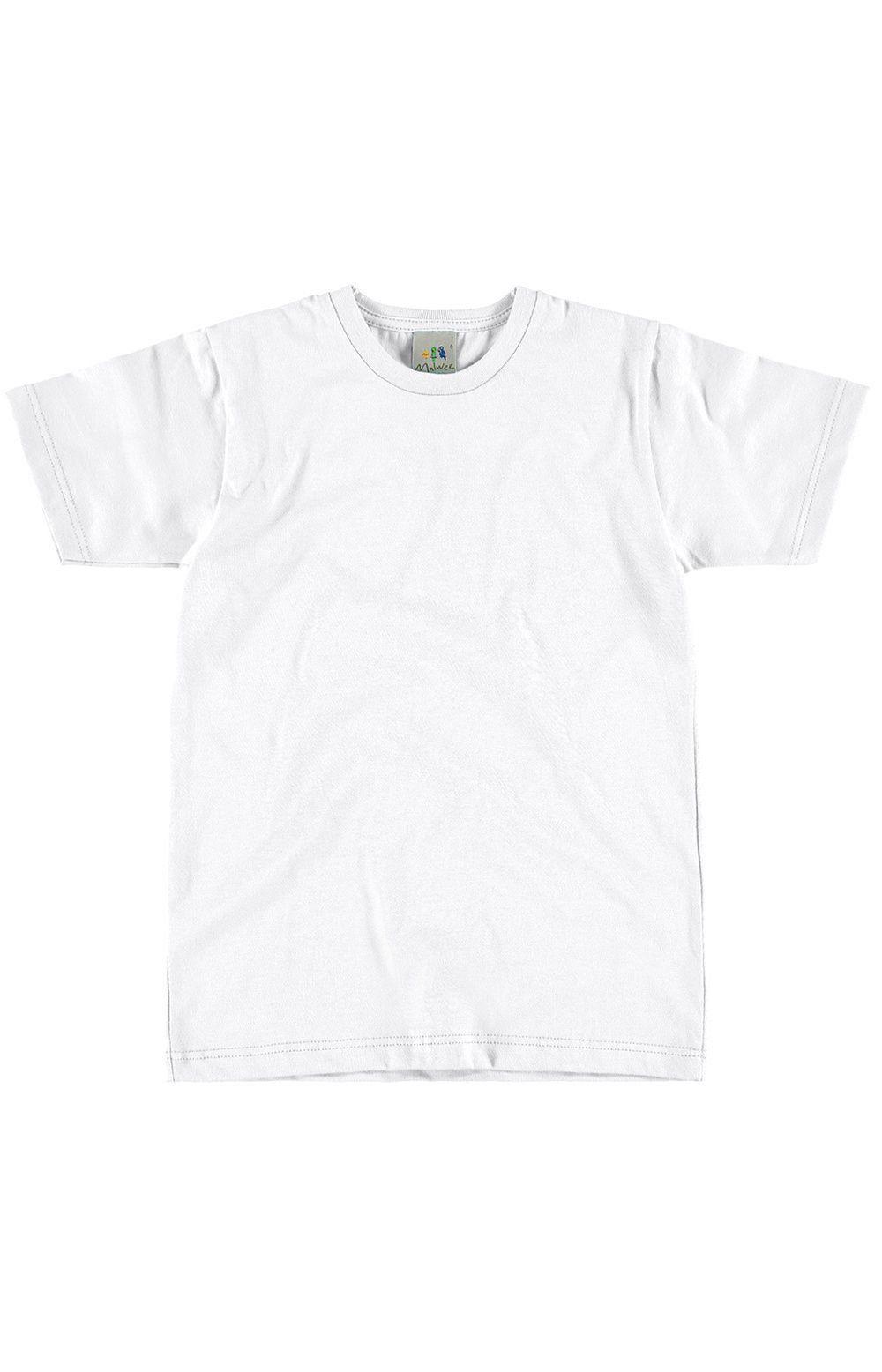 Camiseta Infantil Branca Masculina Malwee