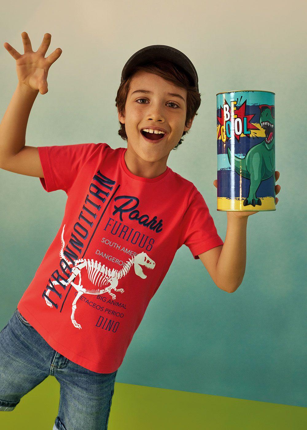 Kit Presente com 2 Camisetas Infantil Masculina Malwee - Acompanha Embalagem