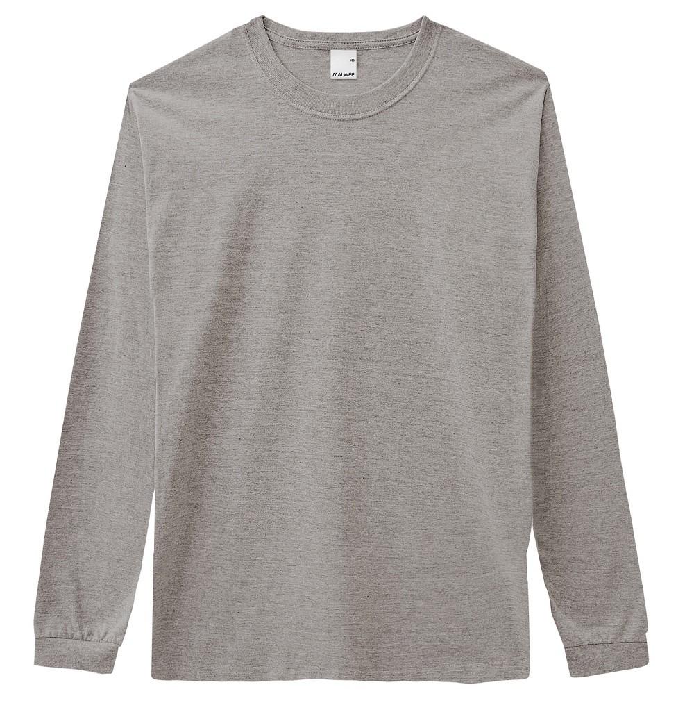 Camiseta Masculina ADULTO Inverno Cinza Mescla Malwee