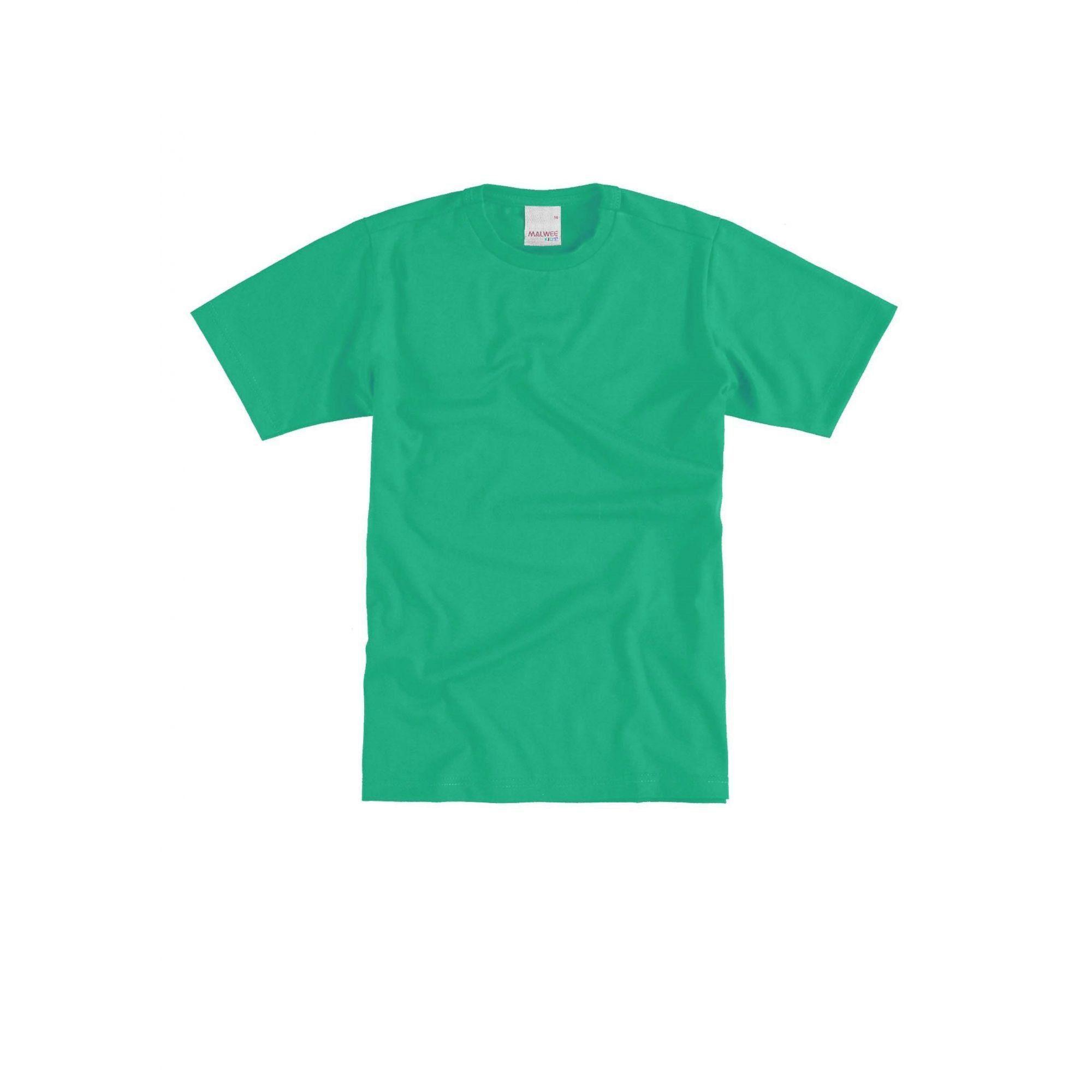 Camiseta Infantil Masculina Verde Malwee