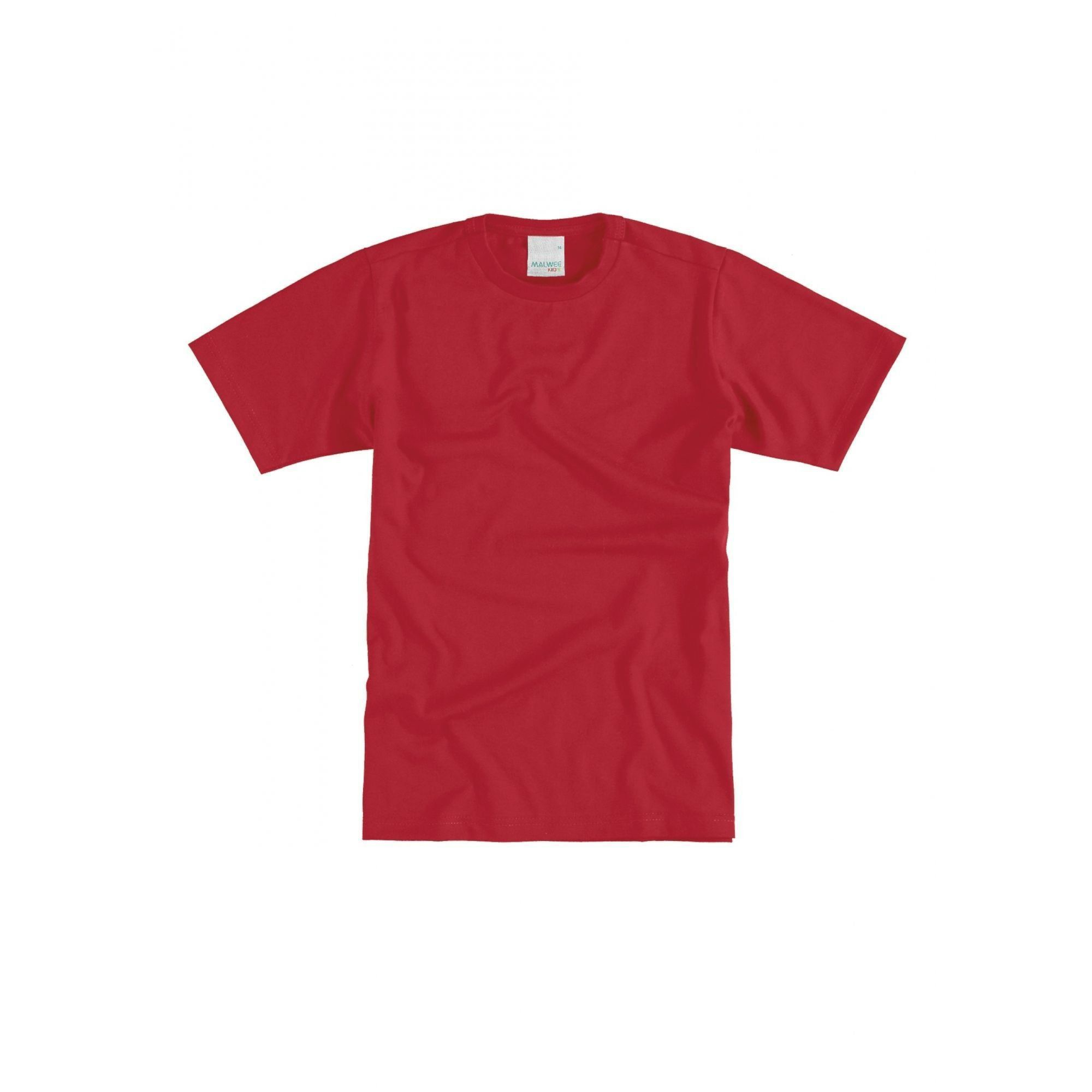 Camiseta Infantil Masculina Vermelha Malwee