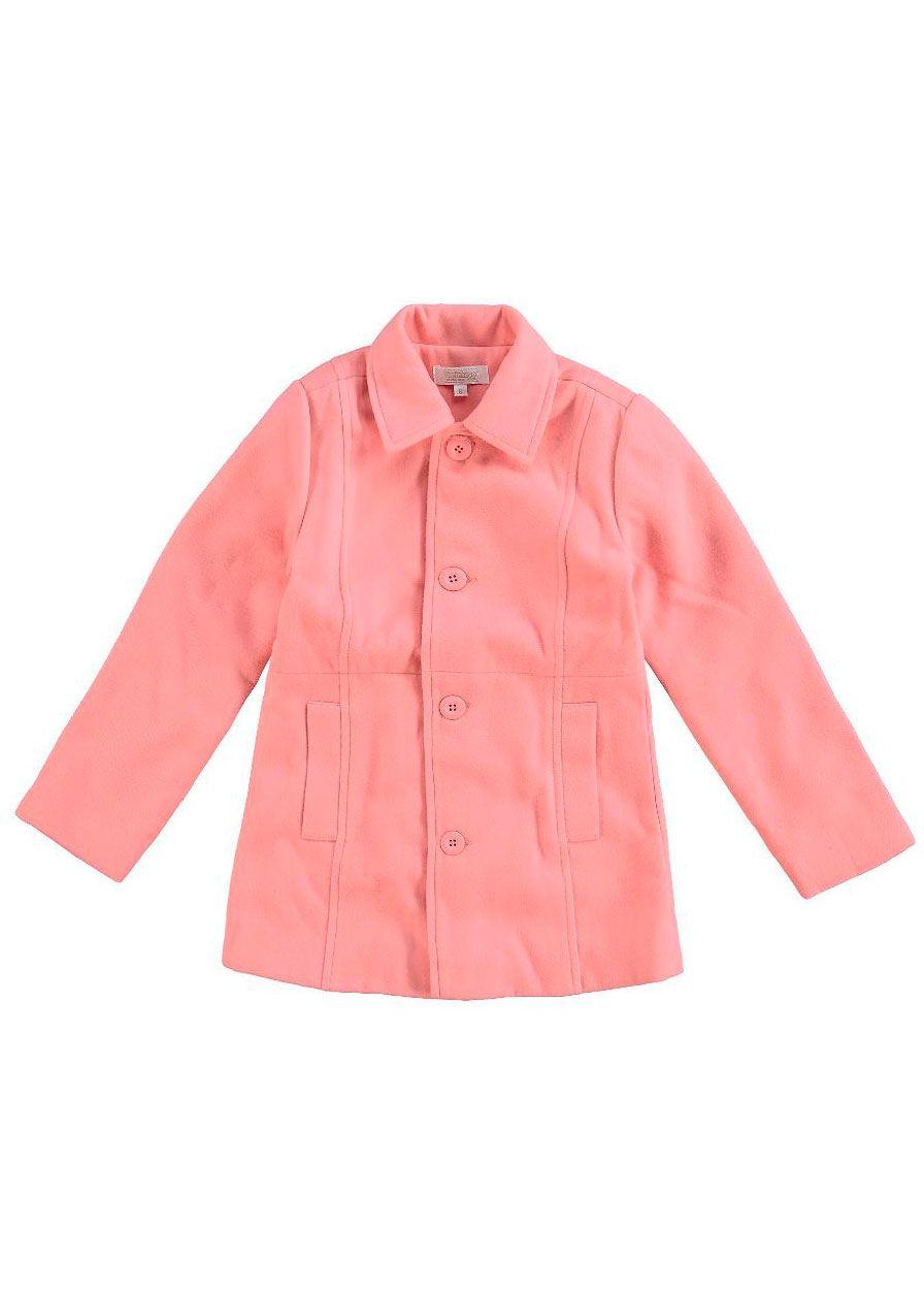 Casaco Infantil Feminino Inverno Rosa Carinhoso