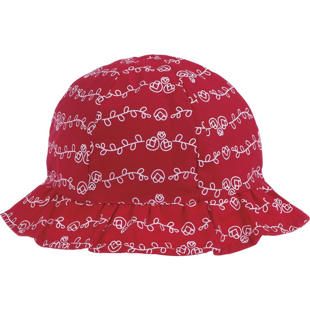 Chapéu Infantil para Meninas Vernelho Pimpolho