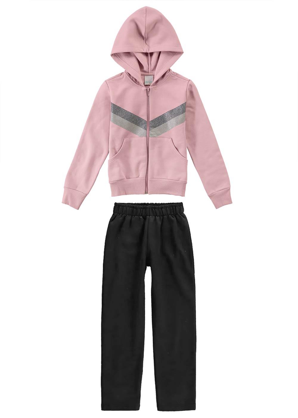 Conjunto Inverno Infantil Feminino Rosa - Malwee