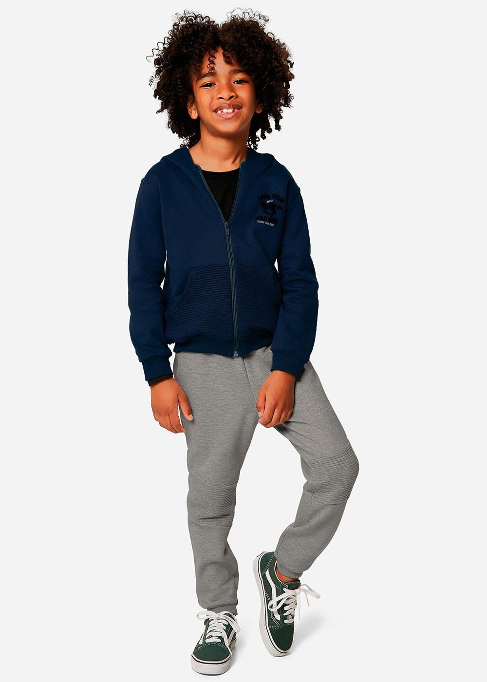 Conjunto Infantil Masculino Inverno Azul Horse Malwee