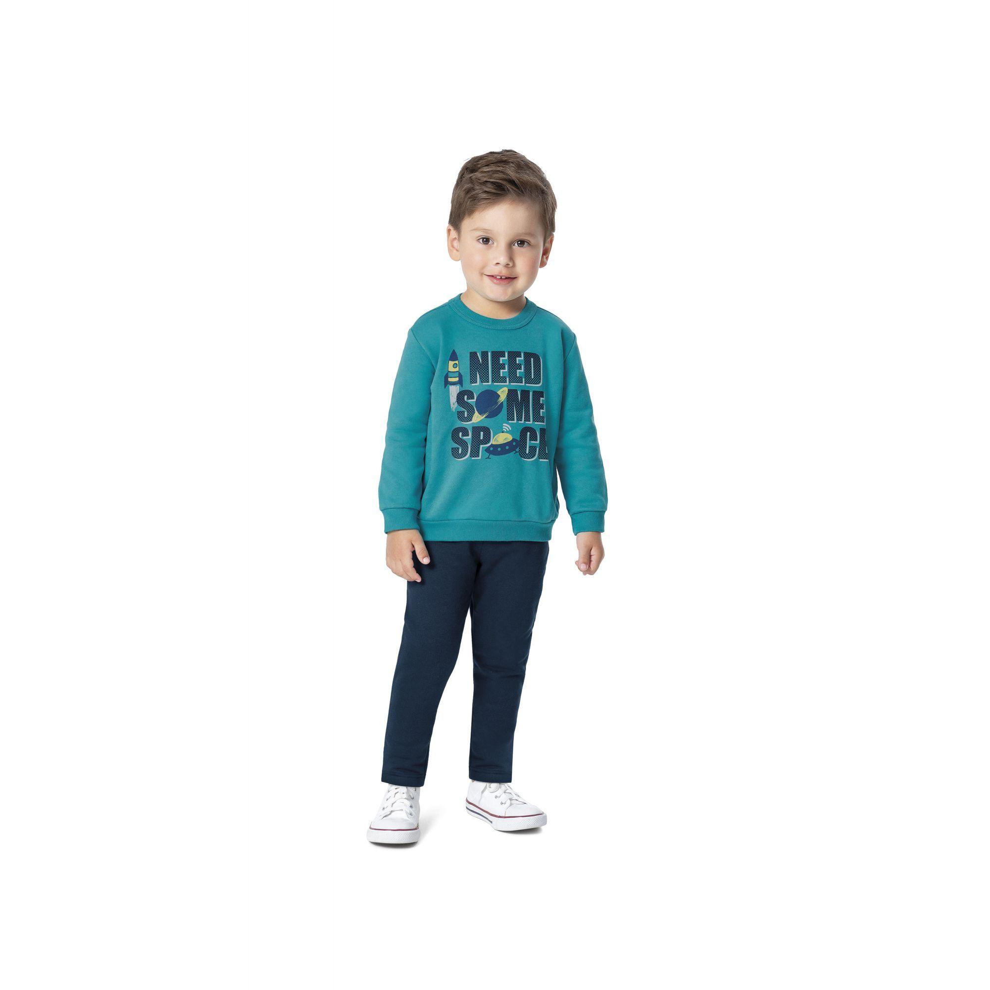 Conjunto Infantil Masculino Inverno Verde Need Malwee