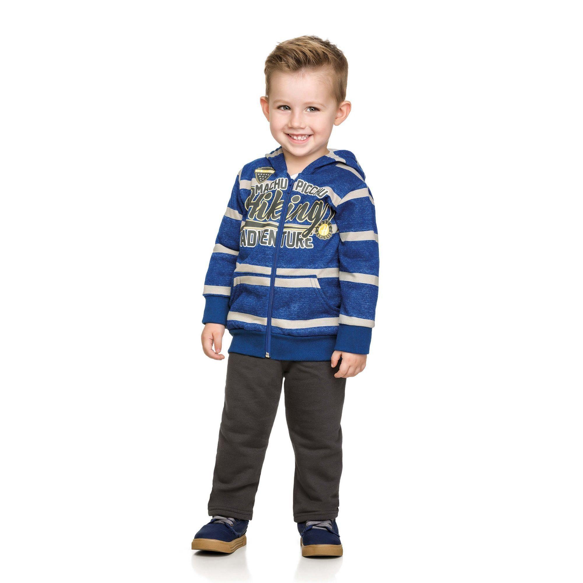Conjunto Infantil Masculino Inverno Azul MachuPichu Elian