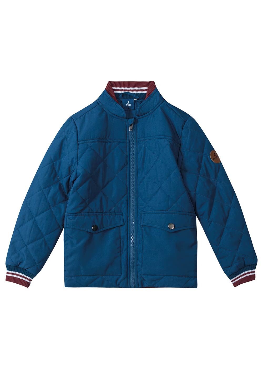 Jaqueta Infantil Masculino Inverno Azul Matelassê - Carinhoso