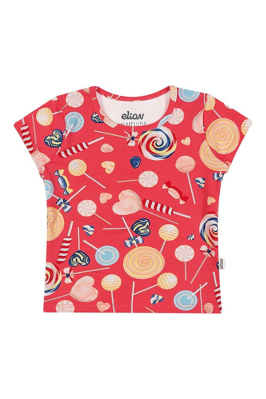 Blusa Infantil Feminina Estampas Kit 3 Verão Elian