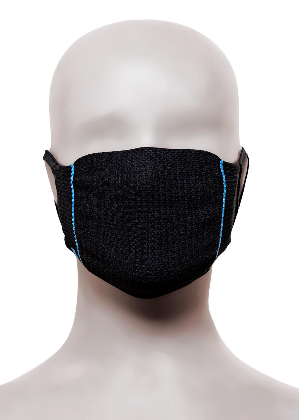 Kit com 2 Máscaras de Proteção Infantil Lupo 7 a 12 anos Virus-Bac OFF