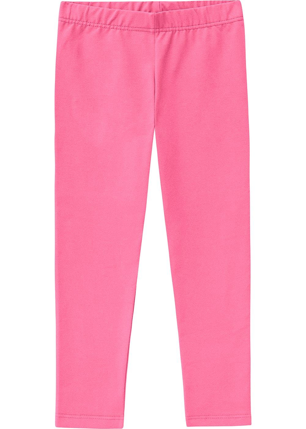 Legging Infantil Feminina Pink Básica - Malwee