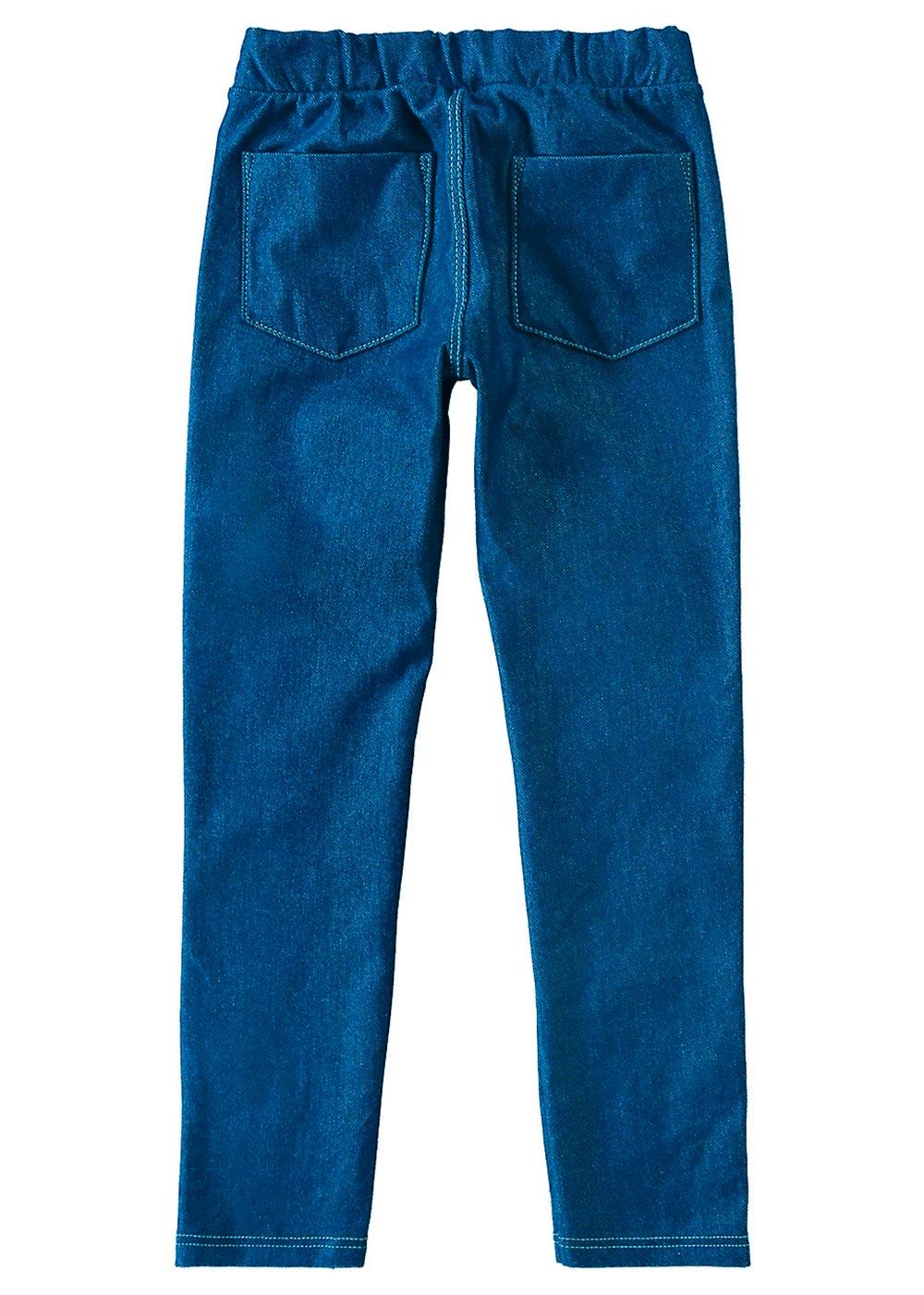 Legging Infantil Inverno Jeans Claro Azul - Malwee