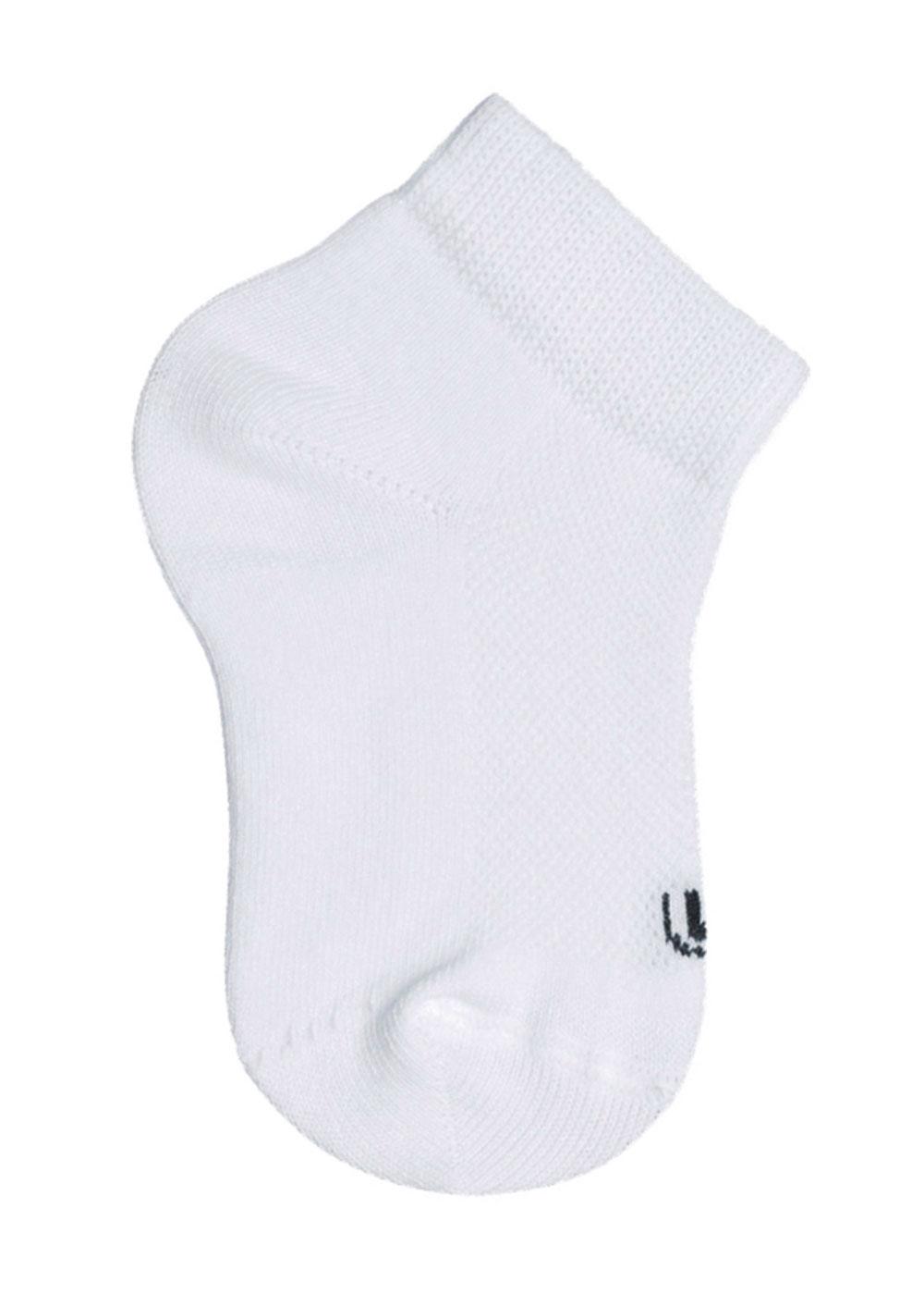 Meia Lupo Infantil Sport Kit 3 Brancas