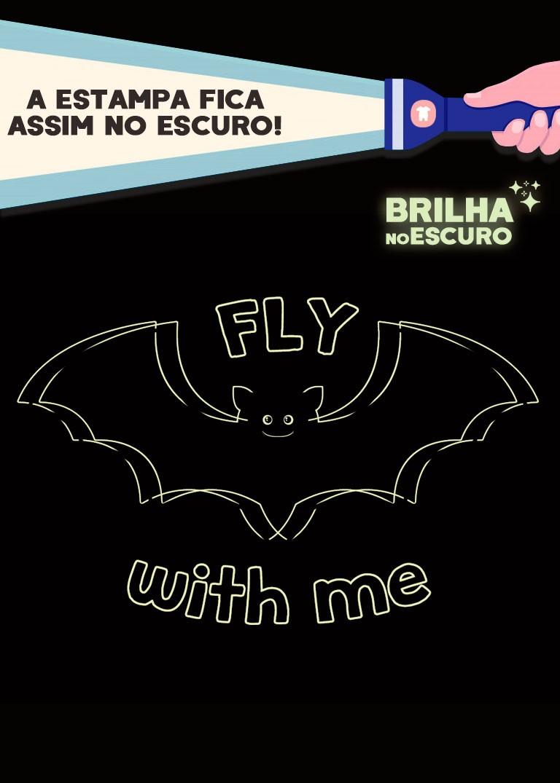 Pijama Infantil Masculino Bat Azul Marinho - Kyly