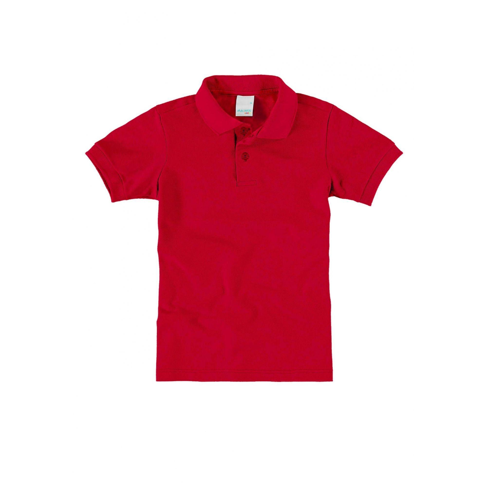 Polo Infantil Vermelha Masculina Malwee