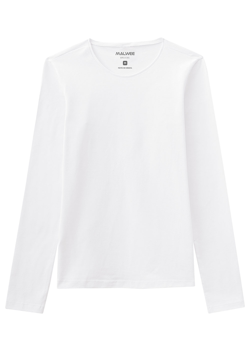 Blusa Adulto Branca Feminina Inverno Malwee