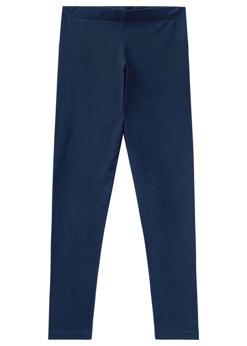 Calça Legging Adulto Feminina Azul Inverno Malwee