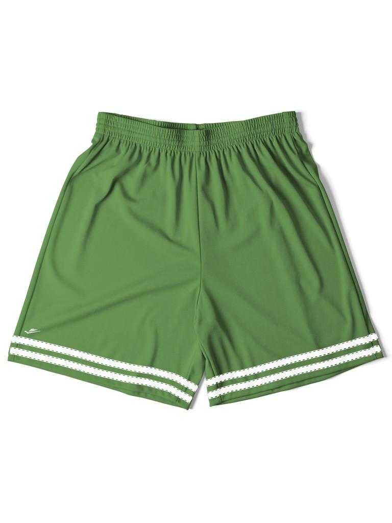 Short Infantil Masculino Verde com Listra - Elite