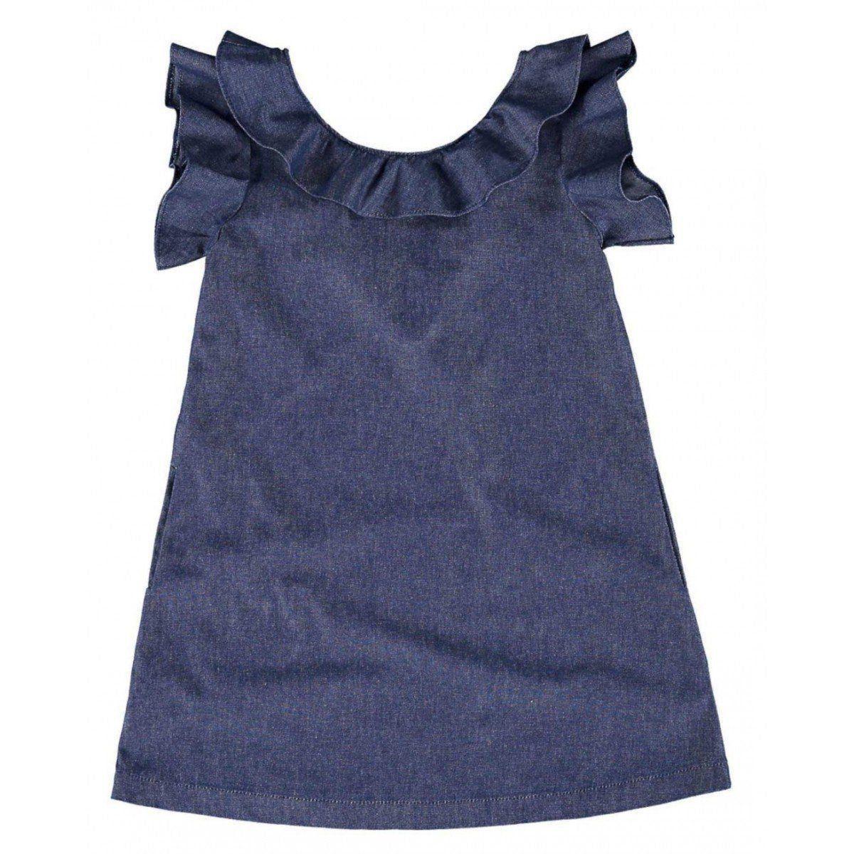 Vestido Infantil Jeans Malwee